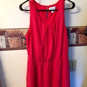 ELLE BRIGHT PINK DRESS SIZE 12